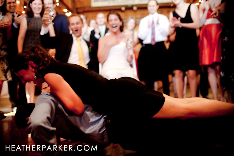 fun hilarious entertaining horah for bride and groom