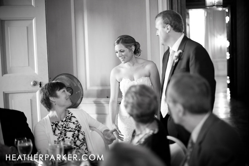 black and white wedding photography in the photojournalism style