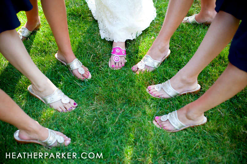 pink and silver wedding shoes also can be sandals