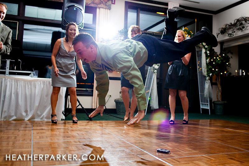 fun wedding reception party photos in chicago