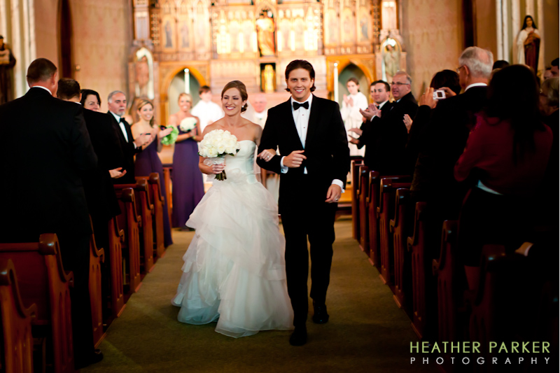 St James Church Chicago wedding photographer Heather Parker
