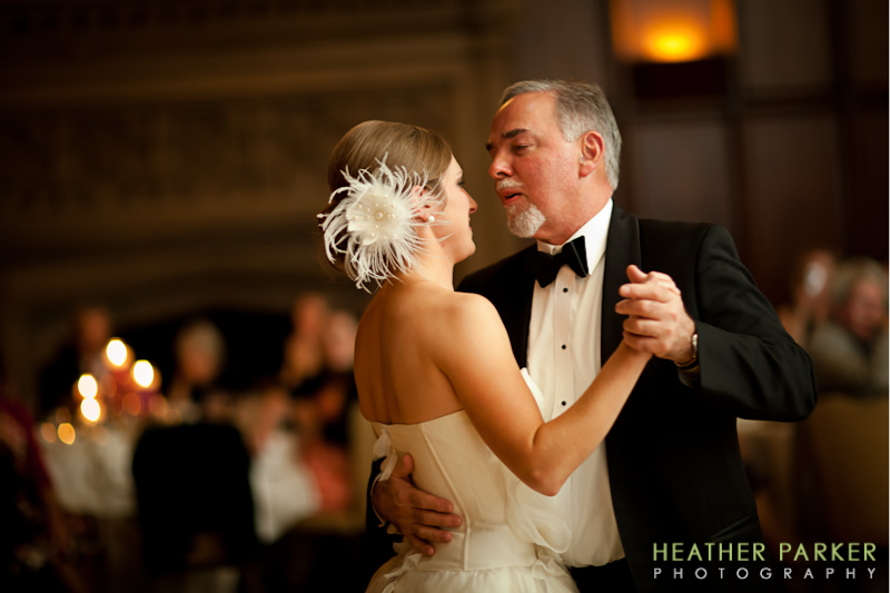 University Club of Chicago wedding photographer Heather Parker