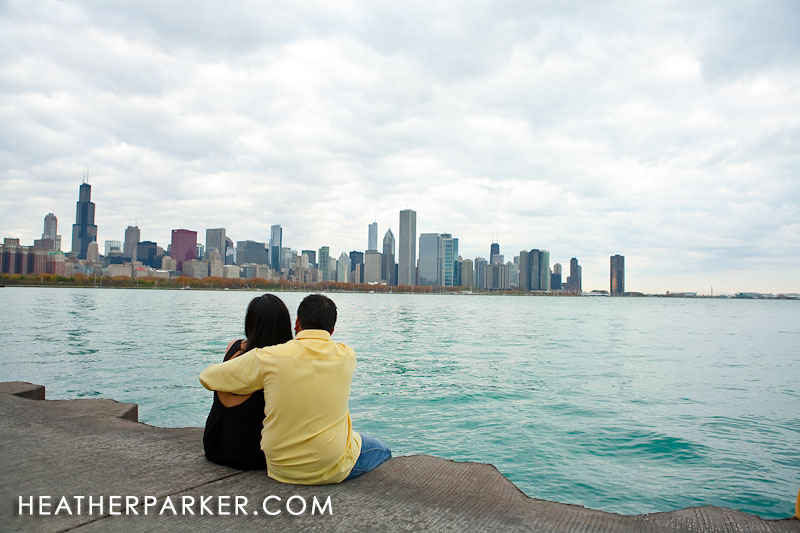 Chicago indian enagagement wedding photographer