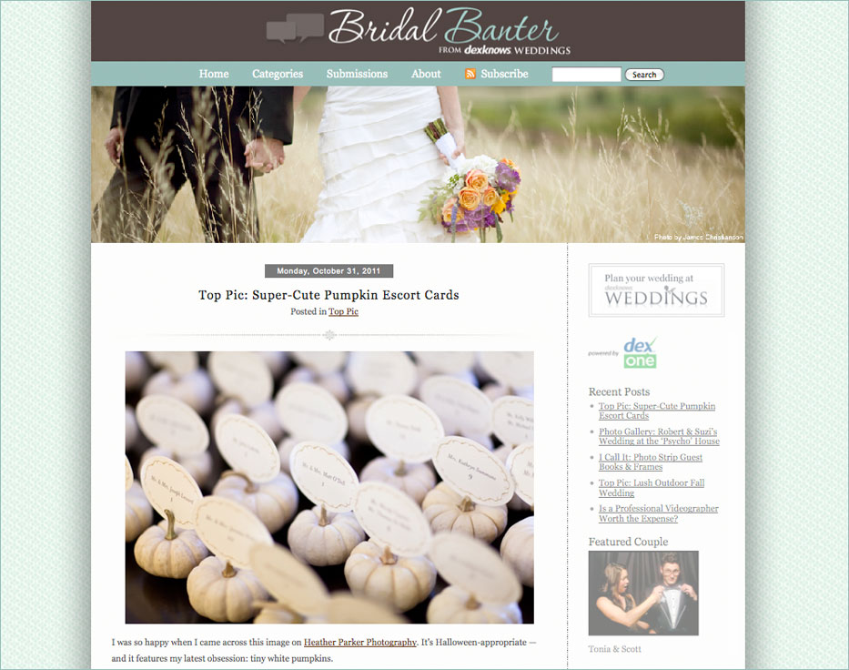 heather parker photography featured on dexknows bridal banter blog