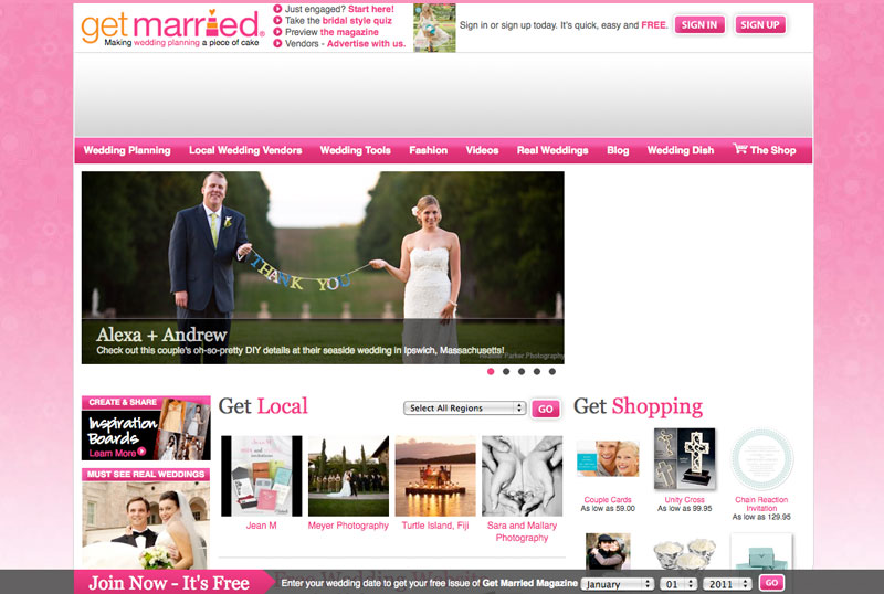 Get Married Magazine real weddings Boston nautical coasta wedding photography