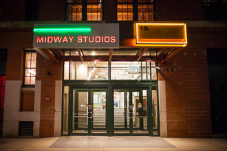 photo of midway studios boston fort point where Heather Parker Photography is located