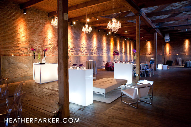 were created by PJ from Studio A G chicago wedding venue warehouse