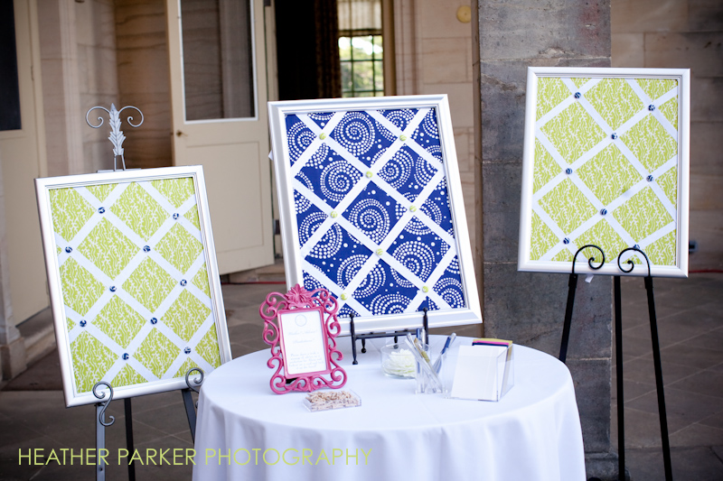 wedding guestbook ideas for an outdoor summer wedding