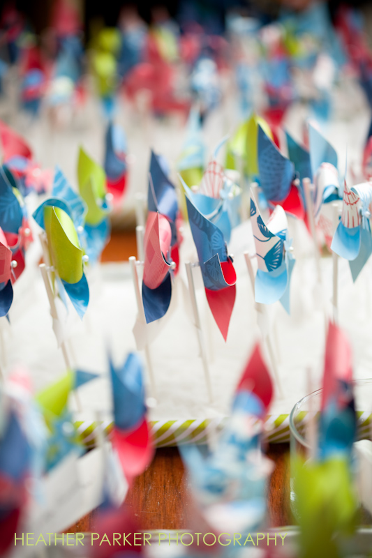 paper pinwheels DIY project