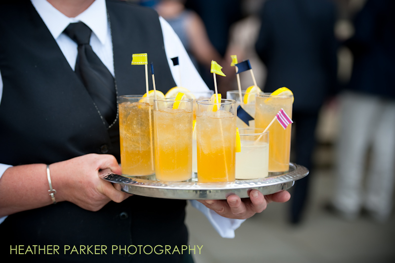 DIY drink stirrers for custom wedding cocktails