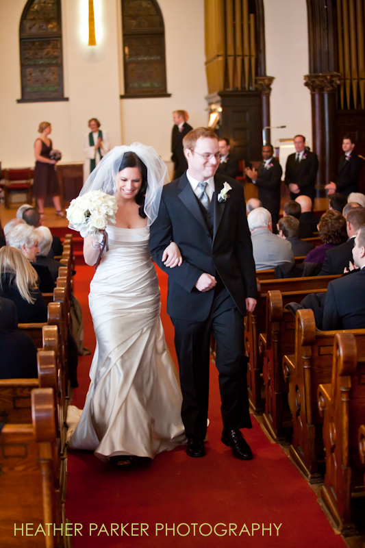 ceremony photos at Lincoln Park Presbyterian