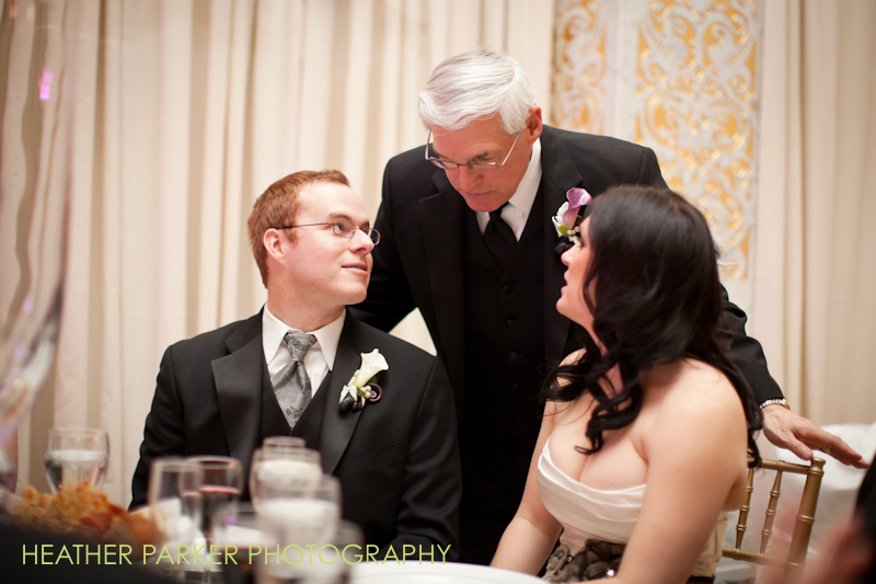 reception photos from rookery wedding