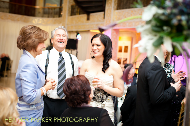 Rookery wedding photos candid