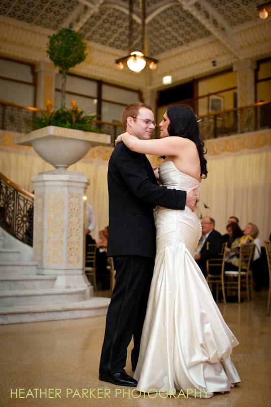 rookery wedding reception photos