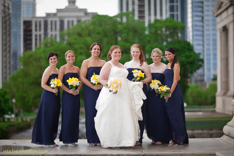 adler planetarium chicago wedding photography by heather parker