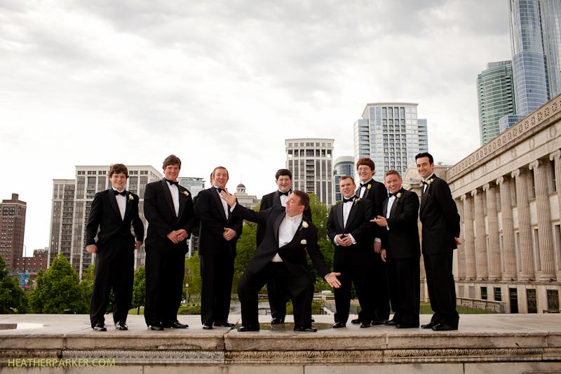 adler planetarium chicago wedding photography