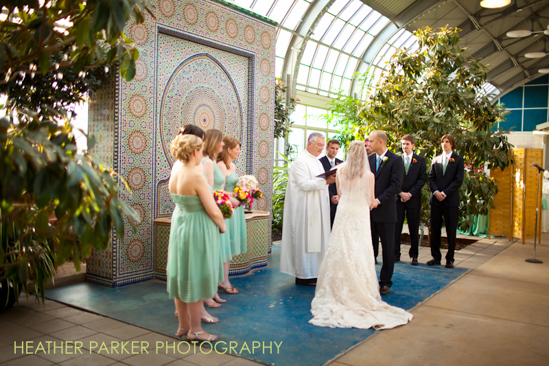 boston marathon wedding couple from chicago garfield park conservatory
