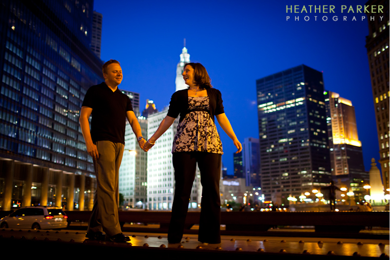 night photography from Heather Parker Photography in Chicago