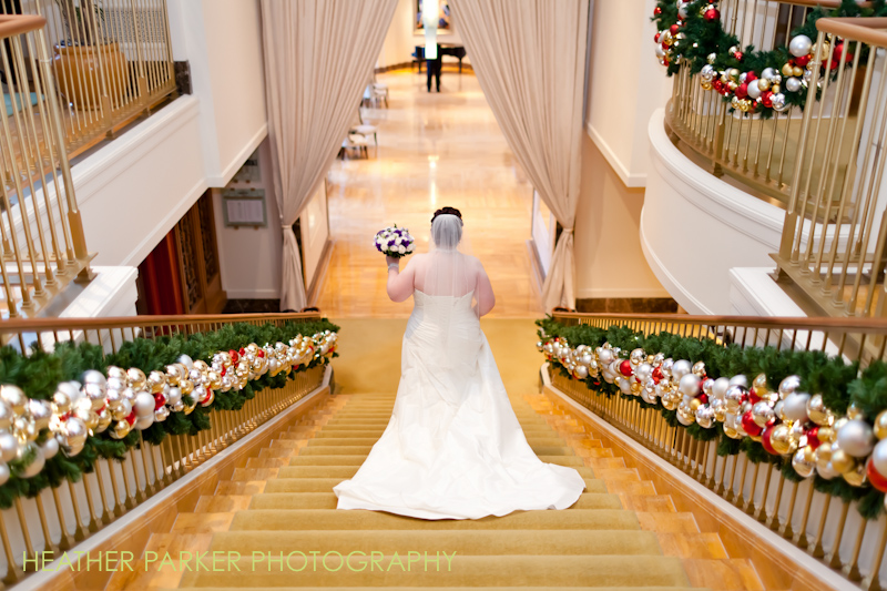 winter wedding at the Peninsula