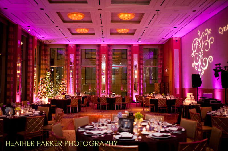 decorative uplighting for weddings