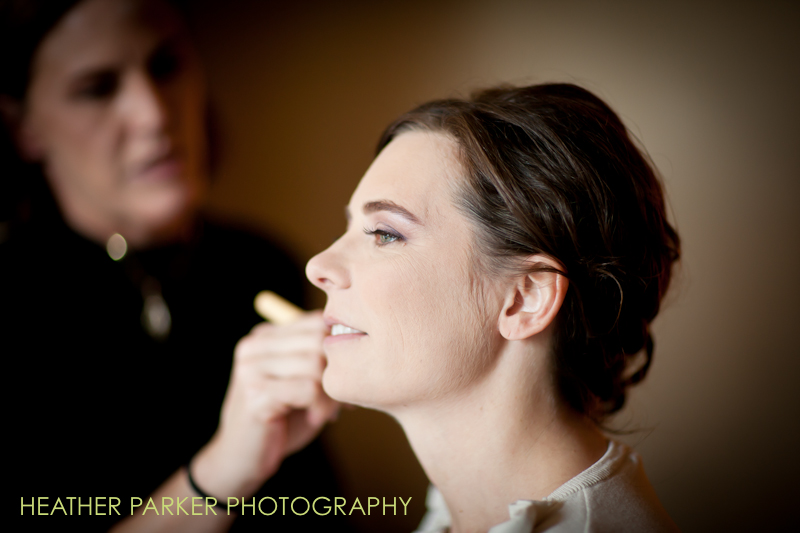 kristen the bride on her wedding day