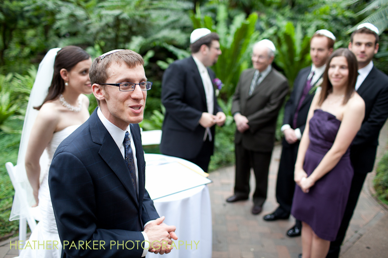 Chicago wedding officiant Rabbi Abe Friedman Anshe Emet Synagogue