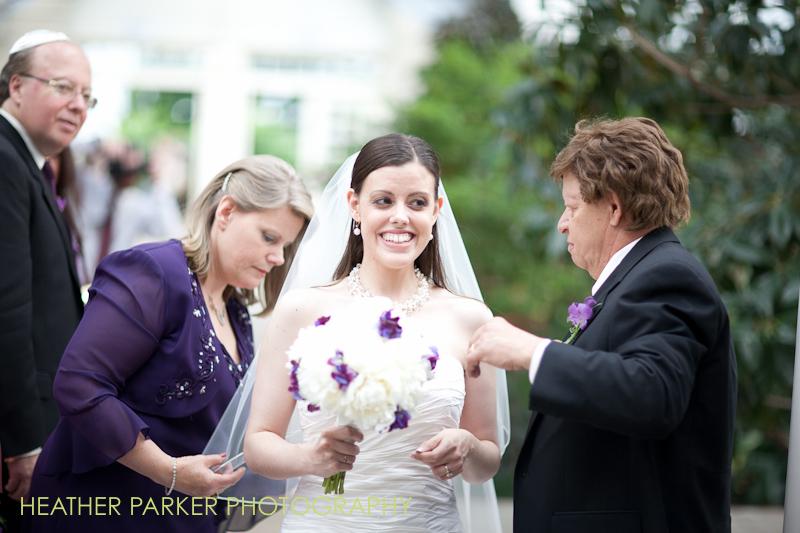 garfield park conservatory horticultural hall indoor wedding ceremony