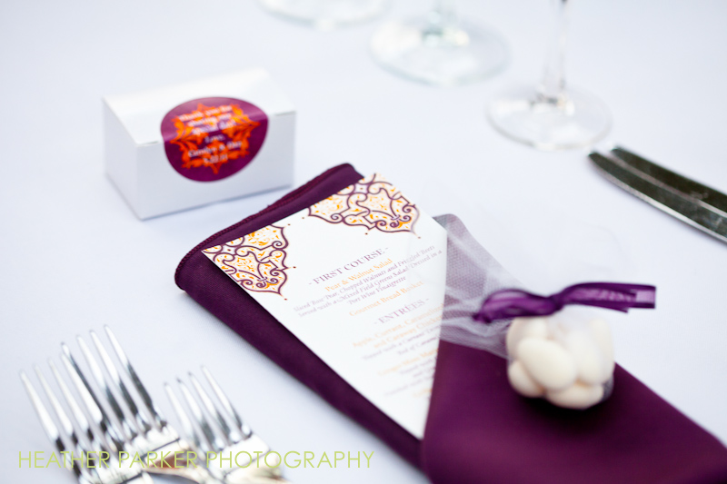 wedding menu cards, stationery, invitations, paper goods and favors