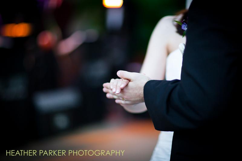wedding reception at garfield park conservatory