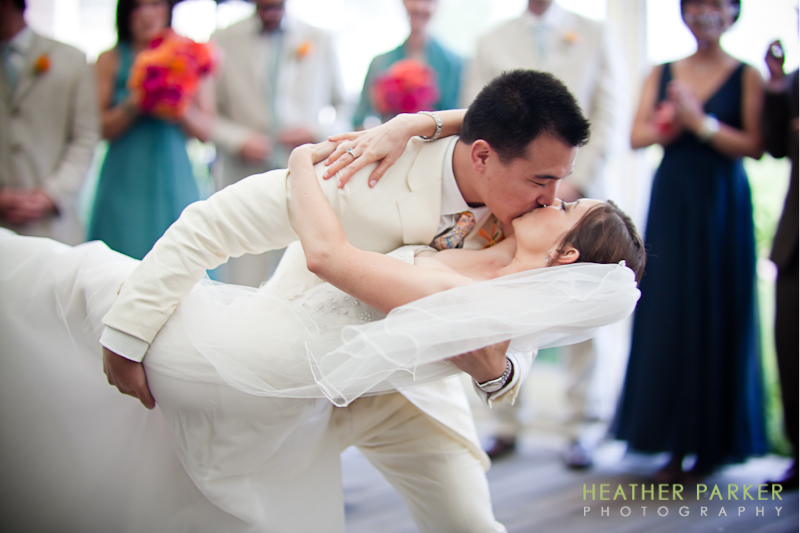 nantucket wedding photography first dance with a live band brought to the venue