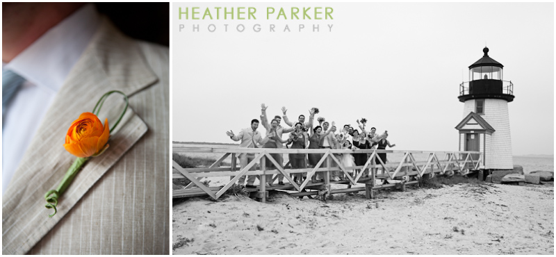 nantucket brant point light wedding