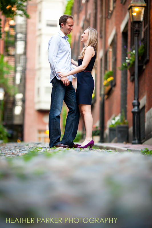 omni hotel wedding couple engagement before the big day by Boston photographer Heather Parker
