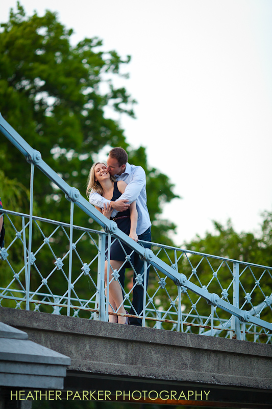 Erin and Dean engagements in Boston