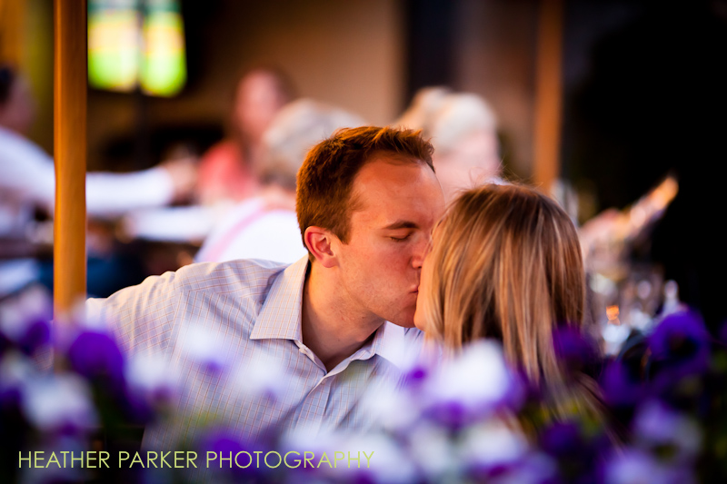 back bay engagement photos in boston by heather parker