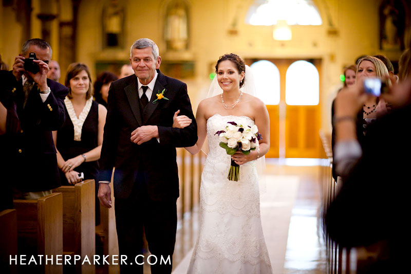 Shrine of Our Lady of Pompeii Heather Parker chicago wedding photographer
