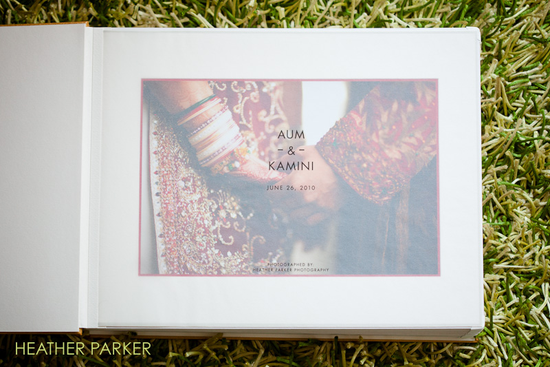 Queensberry wedding album sample for indian weddings Boston photographer