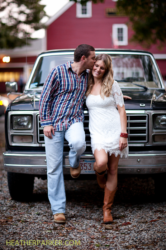brooksby farm engagement session by smith barn wedding photographer heather parker