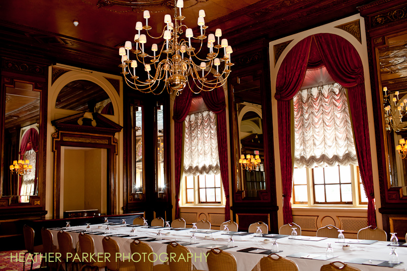 Fairmont Copley Plaza Hotel St James Room as a wedding venue in Back Bay Boston