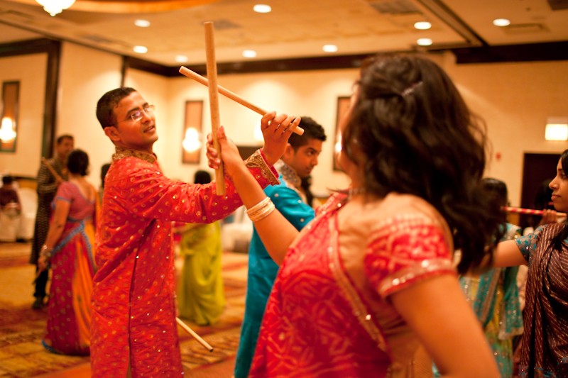 Dandiya Dandia Raas Garba Sticks Indian Wedding Dancing Photography
