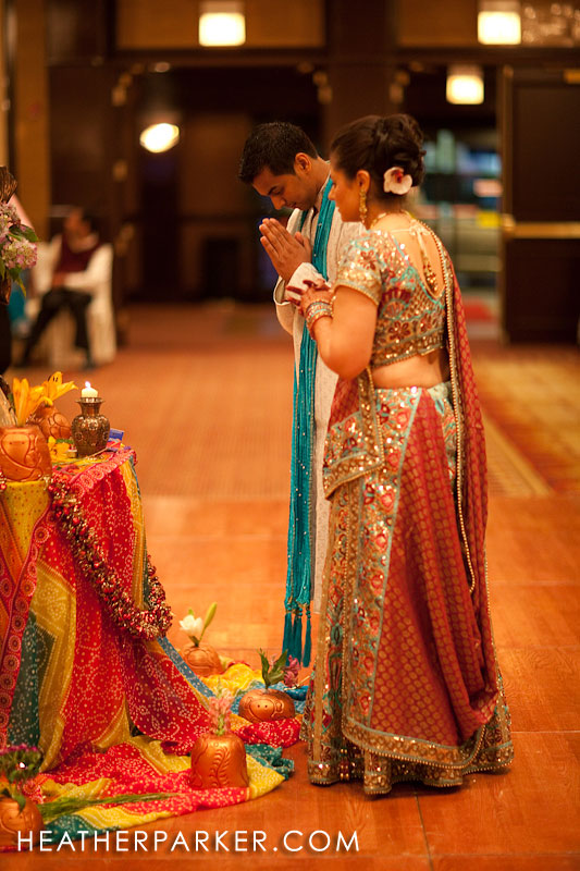 raas garba indian wedding candle