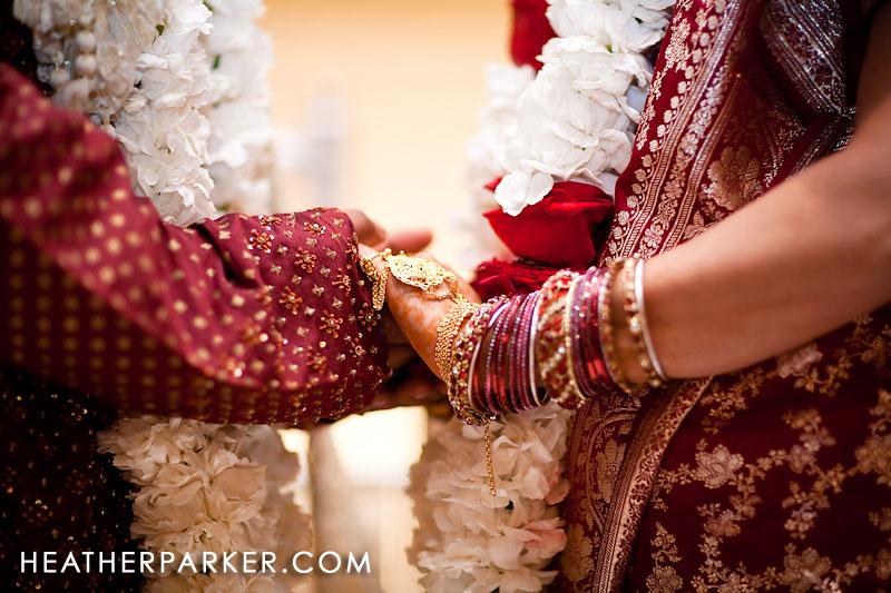bride groom mandap choora