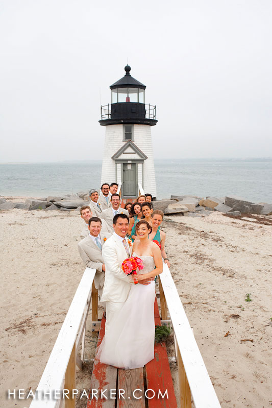 Nantucket wedding photographer and nantucket wedding photography