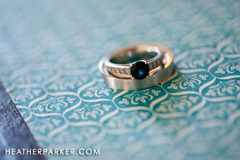 wedding ring from brilliant earth