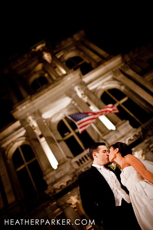 boston omni hotel wedding photography of the bride and groom