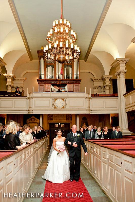 king's chapel wedding photographer