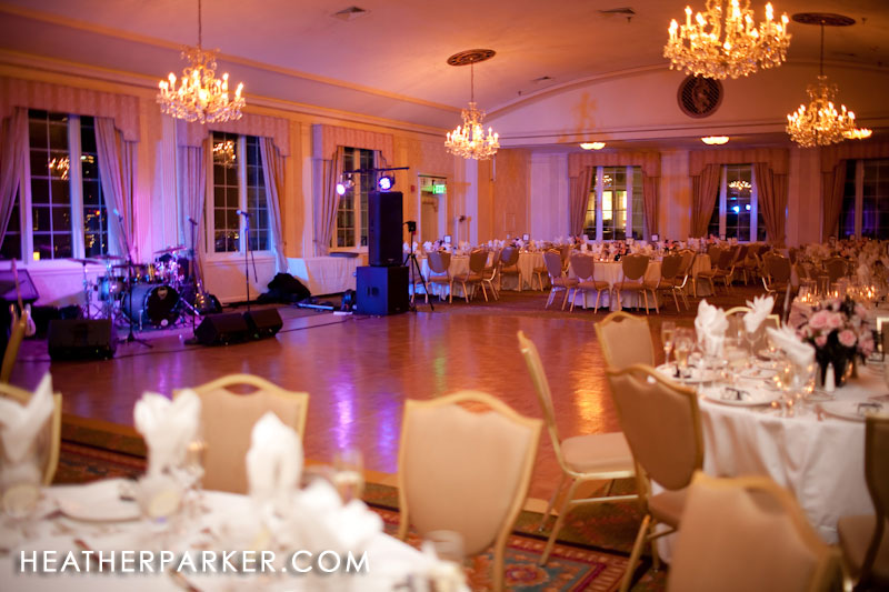 omni parker hotel ballroom for wedding receptions