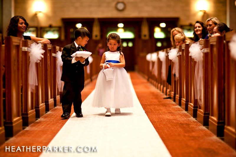 Chicago wedding flowergirl dress