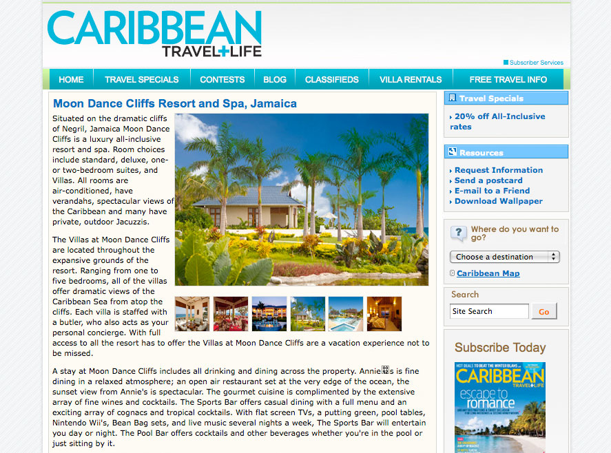caribbean luxury hotel and resort photographer